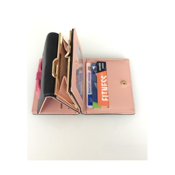 Mały portfel Ladiest, czarny