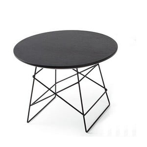 Czarny stolik Innovation Grid, 45 cm
