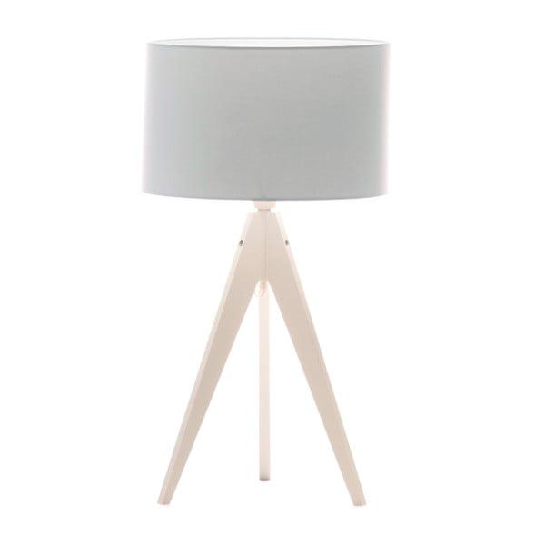 Lampa stołowa Artist Baby Blue/White, 65x33 cm