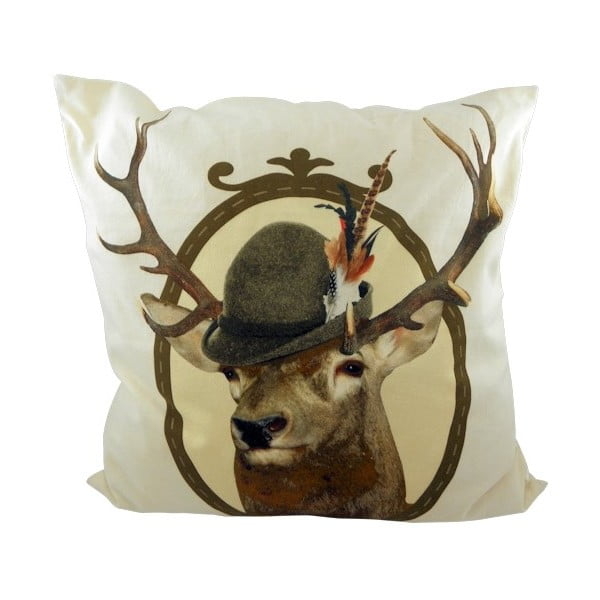 Poduszka Alm Red Deer 50x50 cm