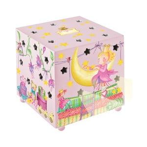 Różowa lampka dziecięca Fairytale