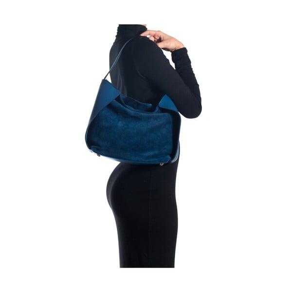 Skórzana torebka Sofia Cardoni 8009 Blu