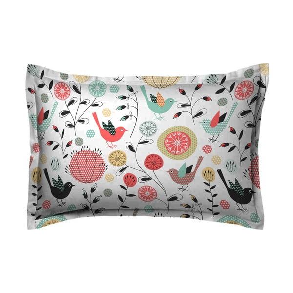 Poszewka na poduszkę Savea Pink, 50x70 cm