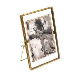 Złota ramka na zdjęcia Rex London Brass, 15x10cm