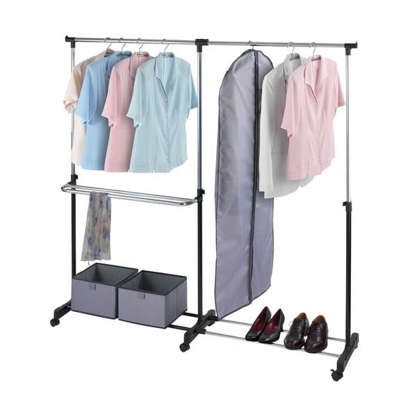 Regulowany stojak na ubrania i buty Sideways