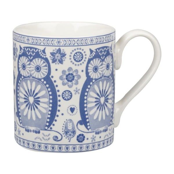 Zestaw 4 kubków Churchill China Blue Mug, 250 ml