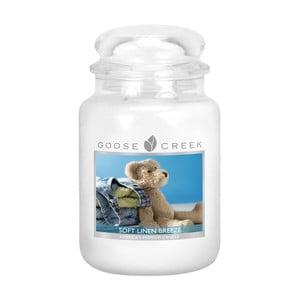 Świeczka zapachowa Goose Creek Świeże pranie, 150 godz. Palenia