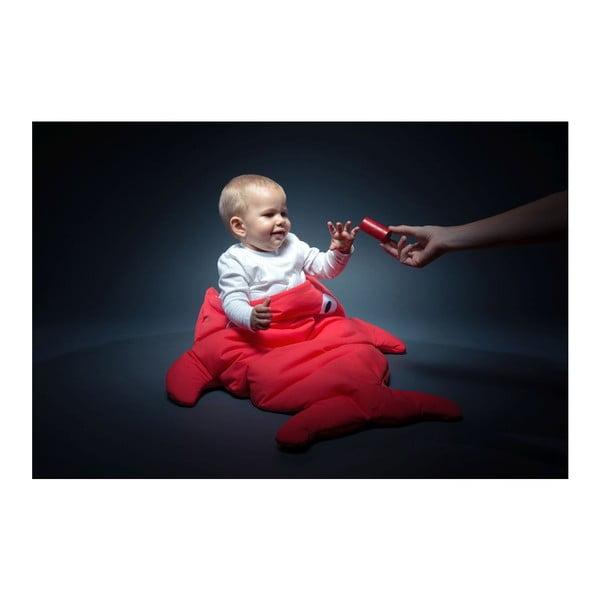 Dziecięcy śpiworek Baby Bites Red with Polka Dots