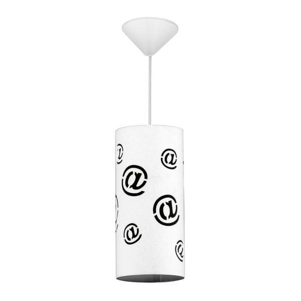 Biała lampa wisząca At White