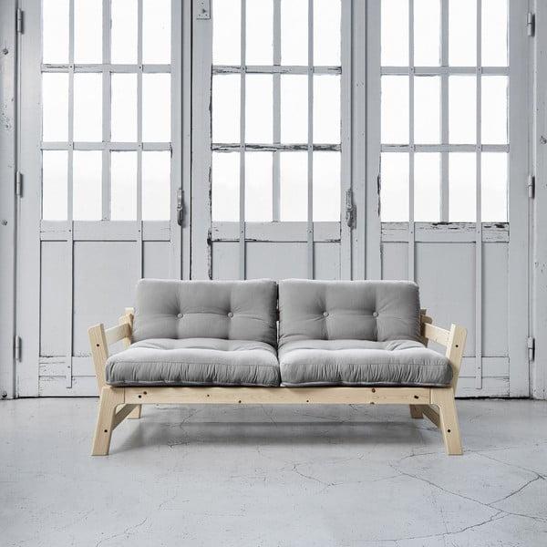Sofa rozkładana Karup Step Natural/Gris