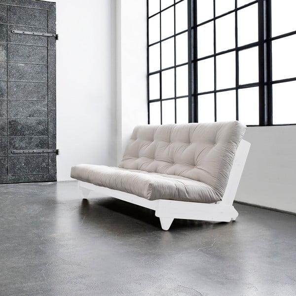 Sofa rozkładana Karup Fresh White/Vision