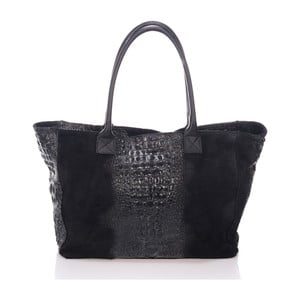 Czarna torebka skórzana Lisa Minardi Fausta