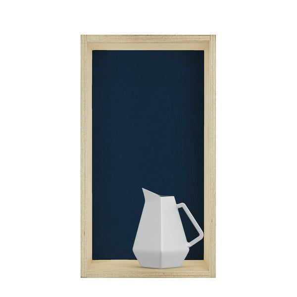 Zestaw 3 półek HF Living Oblong – zielona, biała, niebieska