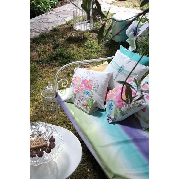 Poszewka na poduszkę Denise 40x40 cm, miętowa