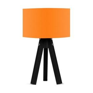 Lampa stołowa z pomarańczowym abażurem Kate Louise Blackie