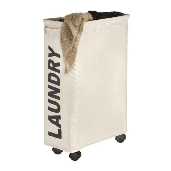 Beżowy kosz na pranie Wenko Como, 44,4 l