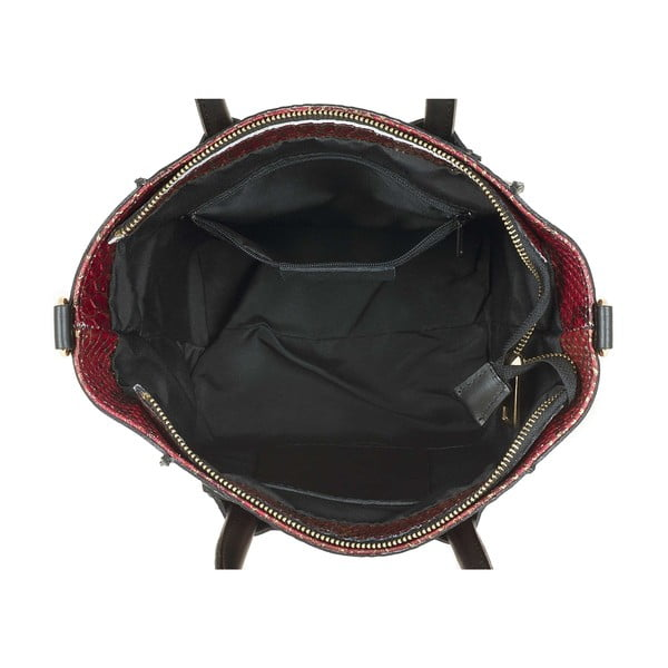 Skórzana torebka Kossie Red
