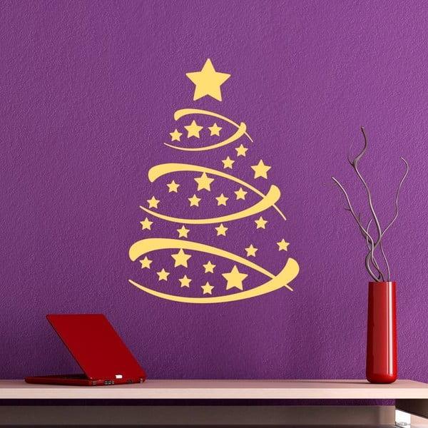 Naklejka świąteczna Fanastick Christmas Tree