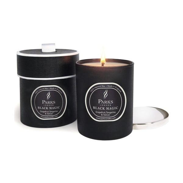 Świeczka Magic Candles, 50 godzin palenia, zapach grejpfruta, wetywerii i mandarynki