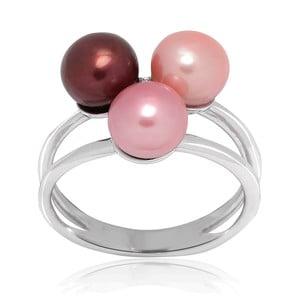 Pierścionek Pure Pearls Pink Candy, rozm. 58