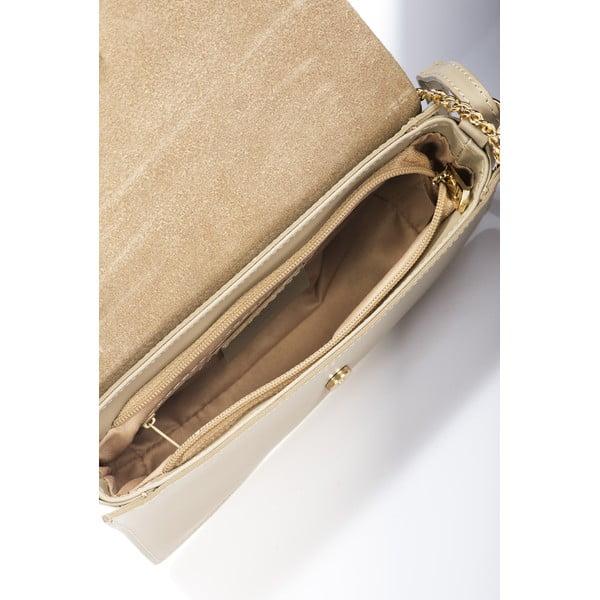 Beżowa torebka skórzana Giorgio Costa Gita