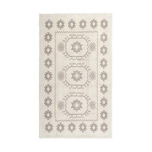 Kremowy dywan bawełniany Floorist Emily, 60x90 cm