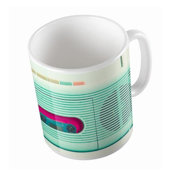 Kubek ceramiczny Retro Radio, 330 ml