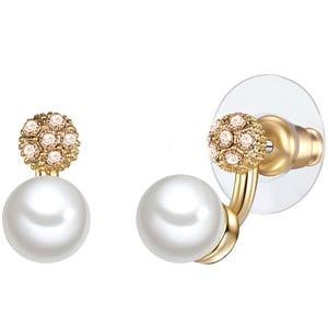 Perłowe kolczyki Con, perła 7 mm