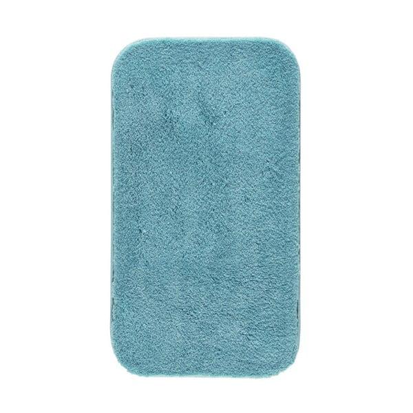 Niebieski dywanik łazienkowy Confetti Miami, 50x57 cm