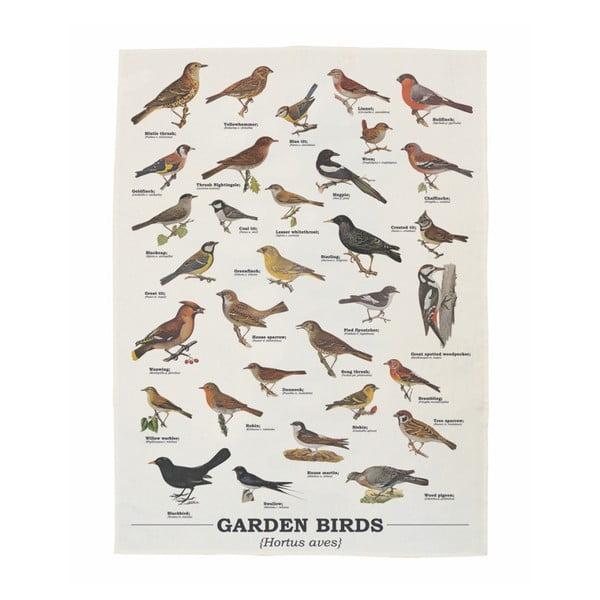 Ścierka bawełniana Gift Republic Garden Birds
