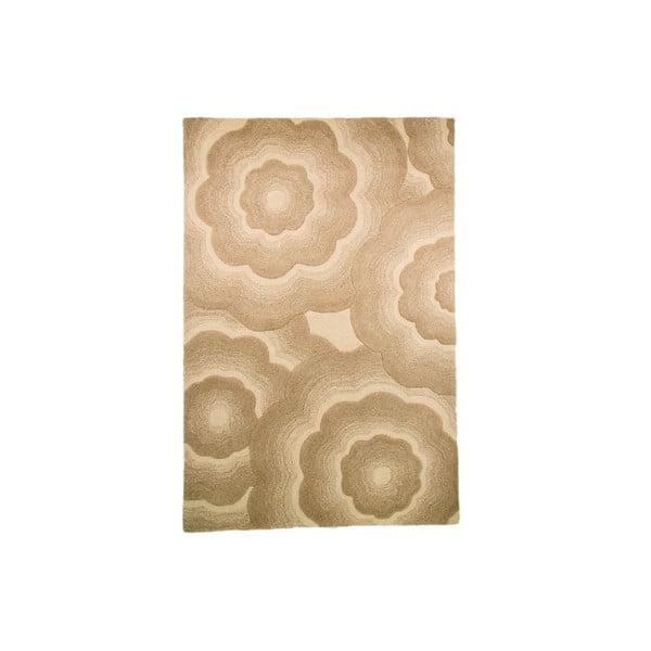 Dywan wełniany Realm, 90x150 cm, naturalny