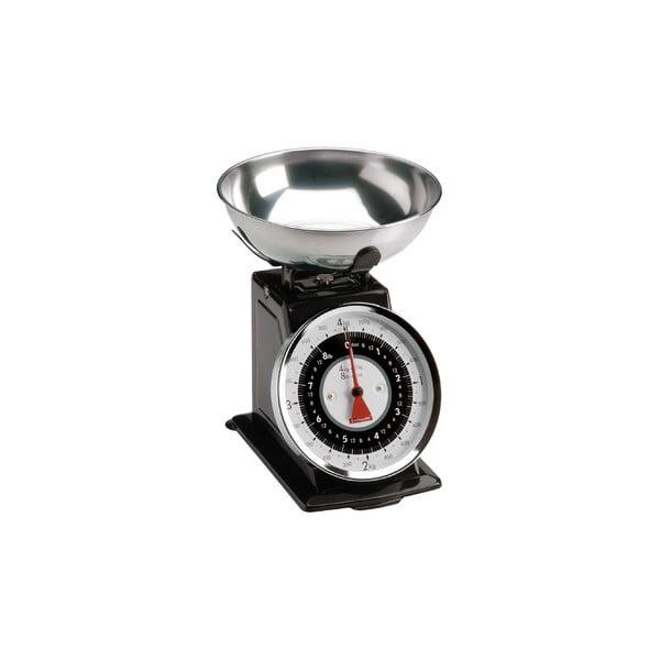 Waga kuchenna Retro Scales, czarna