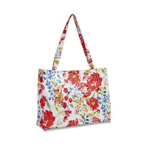 Torba płócienna Cooksmart England Floral Romance Shopping