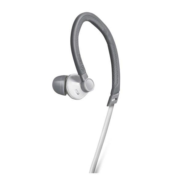 Słuchawki sportowe Celly z mikrofonem, białe