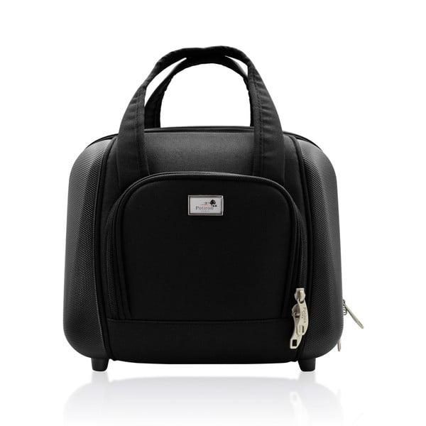 Komplet walizki i torby podróżnej Vanity Black