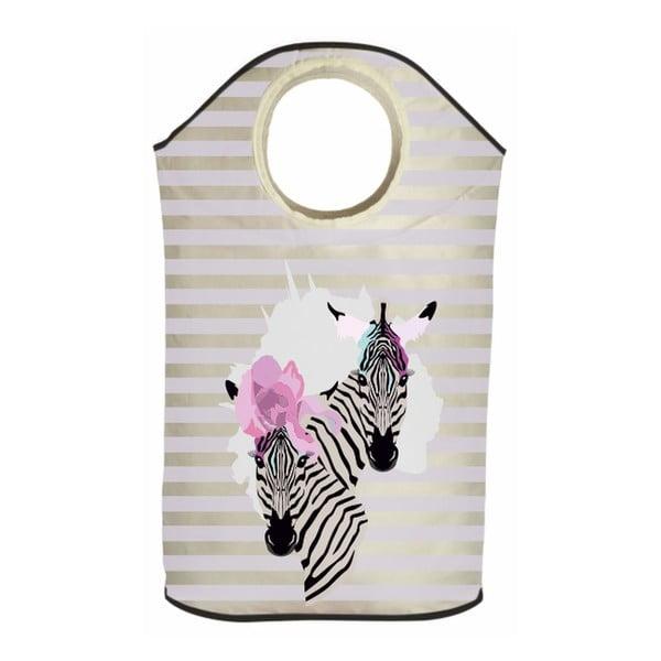 Kosz na bieliznę Zebra Couple