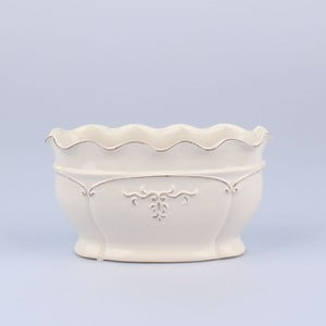 Wazon Antic White, 22x11x12 cm