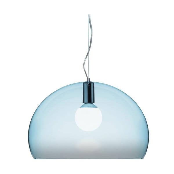 Jasnoniebieska lampa wisząca Kartell Fly