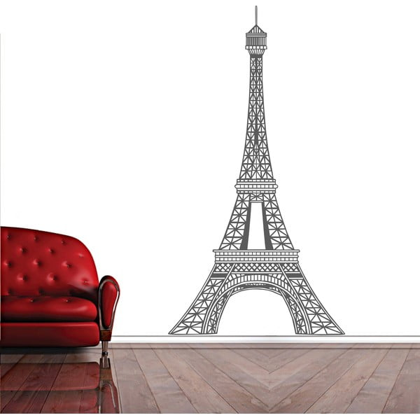 Dekoracyjna naklejka ścienna Paris Amour