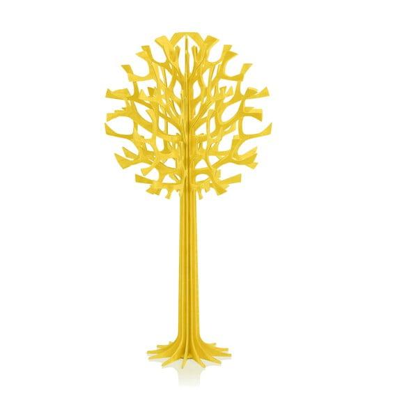 Składana dekoracja Lovi Tree Yellow, 34 cm