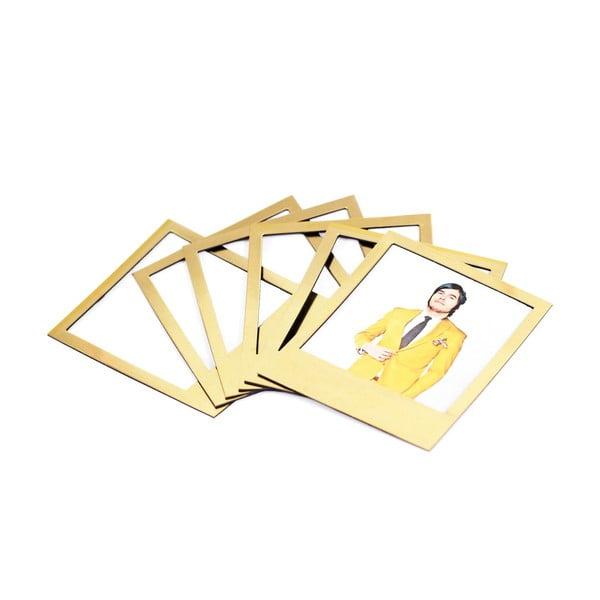 Ramki magnetyczne Polaroid, złote