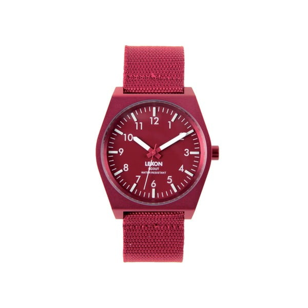 Zegarek Scout, czerwony
