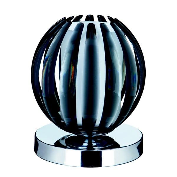 Dotykowa lampa stołowa Searchlight Touch, czarna