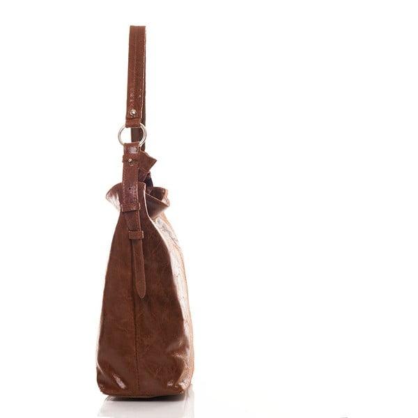 Skórzana torebka Hobo Brown