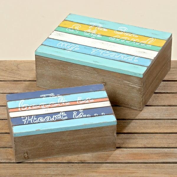 Komplet 2 pudełek Madison