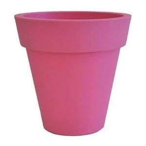 Doniczka Samantha 45x45 cm, różowa