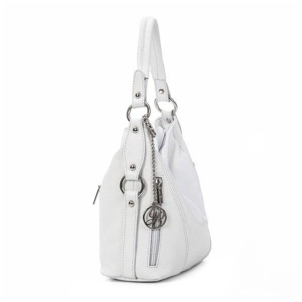 Skórzana torebka Pedro, biała