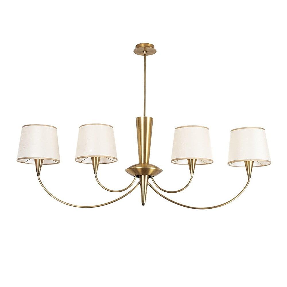 Metalowa lampa wisząca w kolorze złota Opviq lights Emily