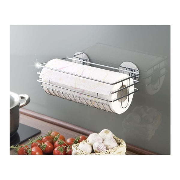 Uchwyt na ręczniki papierowe Wenko Turbo-Loc, do 40 kg