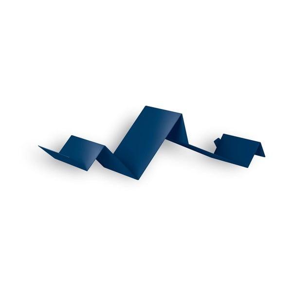 Półka Zig Zag, niebieska